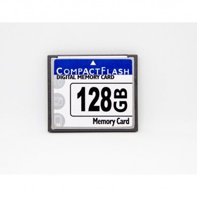 128 GB CF tipo atminties kortelė