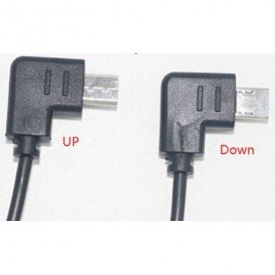 """2,5 mm nuotolinio užrakto paleidimo kabelis su laidu S2 - 90 laipsniu skirtas """"Sony"""" 2"""