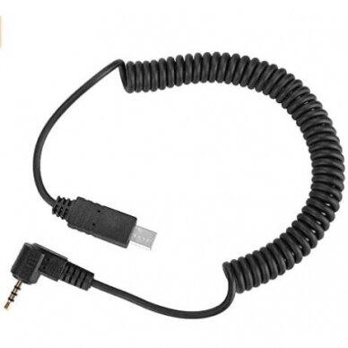 """2,5 mm nuotolinio užrakto paleidimo kabelis su laidu S2 skirtas """"Sony """""""