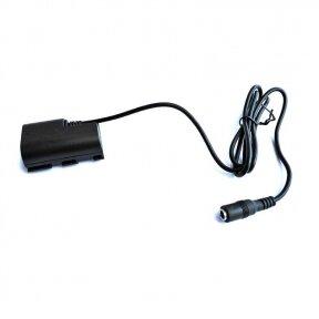 Canon LP-E6 baterijos maitinimas nuo USB