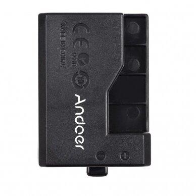 Canon LP-E10 baterijos maitinimas nuo USB 4