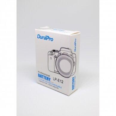 Canon LP-E12 akumuliatoriai fotoaparatams