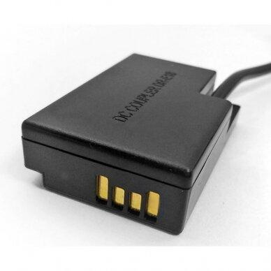 Canon LP-E17 baterijos maitinimas nuo USB 3