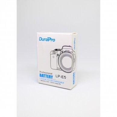 Canon LP-E5 akumuliatoriai fotoaparatams