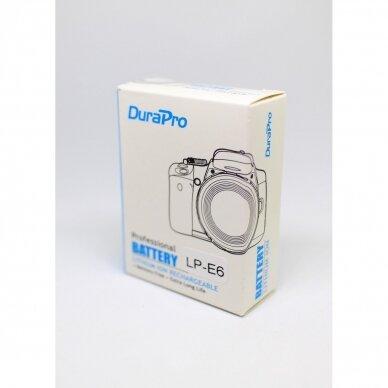 Canon LP-E6 akumuliatoriai fotoaparatams