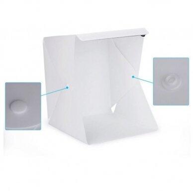daiktų fotografavimo dėžė 40x40x40 cm 4