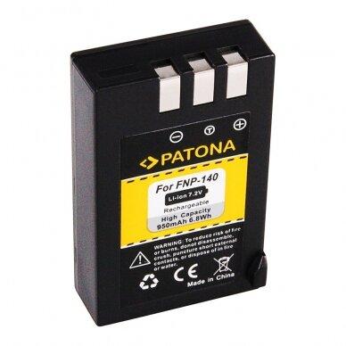 Fujifilm NP-140 akumuliatorius 2