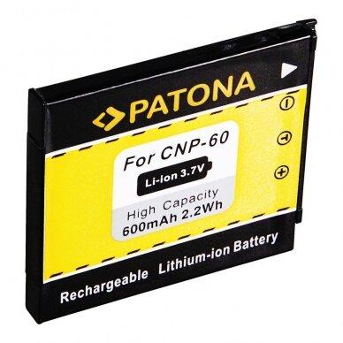Fujifilm NP-60 akumuliatorius fotoaparatui 2