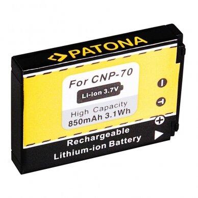 Fujifilm NP-70 akumuliatorius fotoaparatui 2