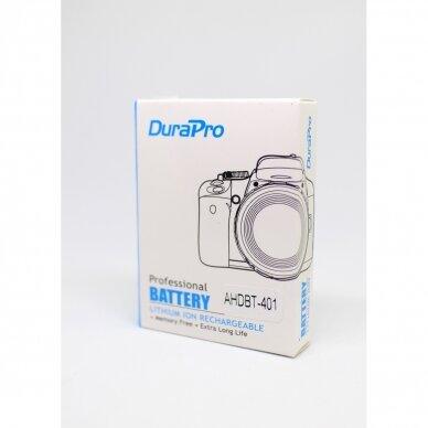 Gopro 401 akumuliatorius fotoaparatui