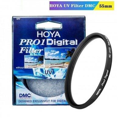 HOYA UV Filtras 55mm