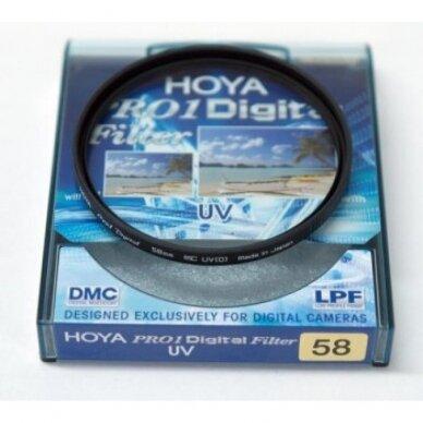 HOYA UV Filtras 58mm 2