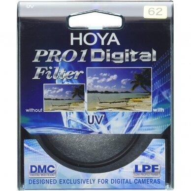 HOYA UV Filtras 62mm 2