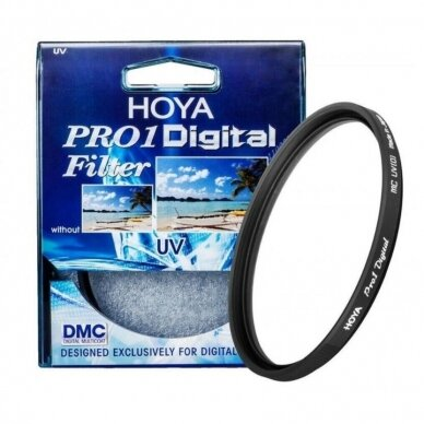 HOYA UV Filtras 62mm