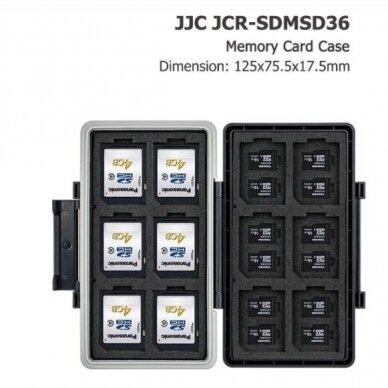 JJC atminties kortelių dėklas 4