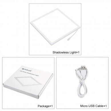 LED padėklas daiktų fotografavimui 3