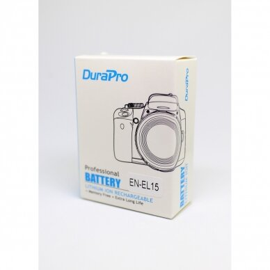 Nikon EN-EL15 akumuliatorius