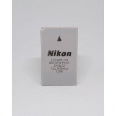 Nikon EN-EL22 akumuliatorius 2