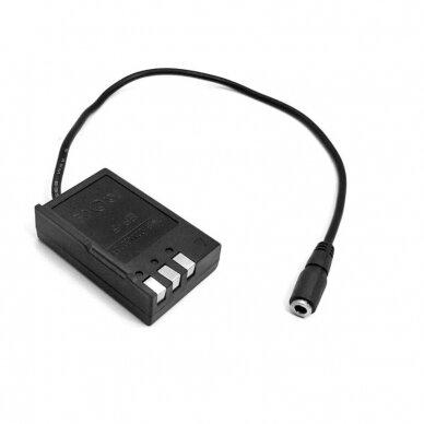 Nikon EN-EL9 baterijos maitinimas nuo USB 2
