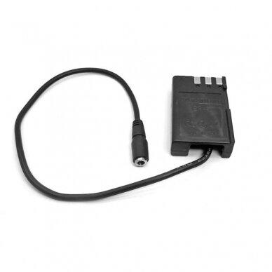Nikon EN-EL9 baterijos maitinimas nuo USB 3