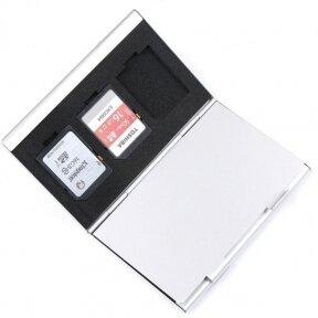 Sd ir Micro SD kortelių dėklas