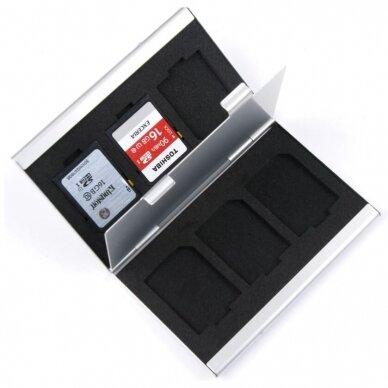 Sd ir Micro SD kortelių dėklas 2