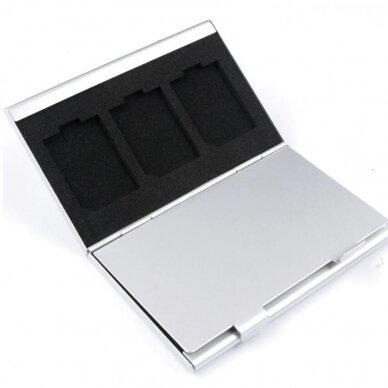 Sd ir Micro SD kortelių dėklas 3