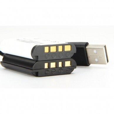 Sony BX-1 baterijos maitinimas nuo USB 3
