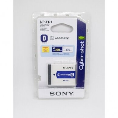 Sony NP-FD1 akumuliatorius fotoaparatui