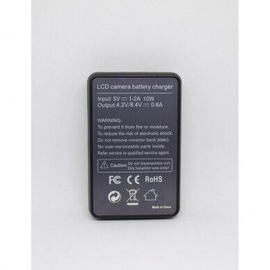 Sony NP-FH50 kroviklis 3