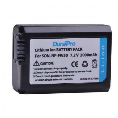 Sony NP-FW50 akumuliatorius fotoaparatui 2