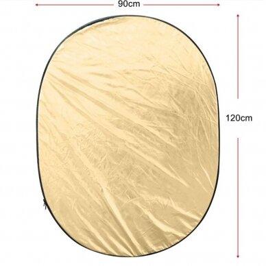 šviesos reflektorius 90x120 cm dydžio 4
